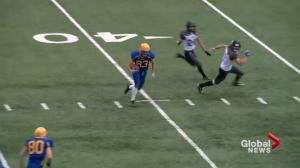 Saskatoon Hilltops down Winnipeg Rifles 52-26